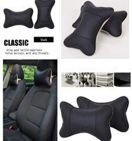 Wholesale Punch a pillow summer car pillow neck pillow lumbar automotive supplies cushions protect neck leather cushions breathable pillow leght CM
