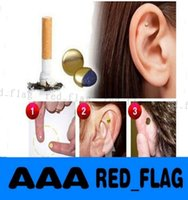 Wholesale Stop Quit Smoking Zerosmoke Patch Healthy Care Auricular Magnet The Help Of Zero Smoke Auricular Therapy Magnets pair With Logo Package LLY
