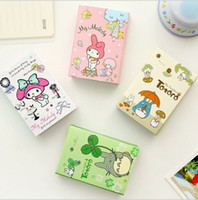 Wholesale Kawaii Totoro Cute Melody Folding Memo Pad Sticky Notes Memo Notepad N times posted Bookmark Gift Stationery