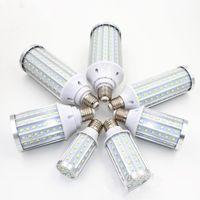 aluminum chandelier - High power SMD E27 E14 B22 E40 Led Light Bulb V Led Lamp W W W W No flicker Aluminum PCB Chandelier Lights