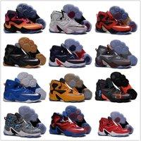 Wholesale Original Children Kids Cheap Basketball Shoes Men LeBron Sneakers Good Quality Authentic Hot Sale LB XIII Sports Shoes Size