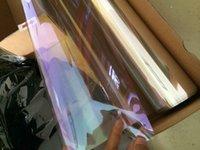 auto mirror tint - High performance Purple Chameleon Window Tint Film Car Film PET Window Tints For Auto Window Graphics SIZE X30M