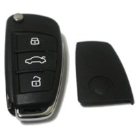 audi tt cover - New Buttons Remote Replacement Car Key Shell Case Cover for Audi A3 A4 A6 A8 TT Q7 S6 Flip Folding