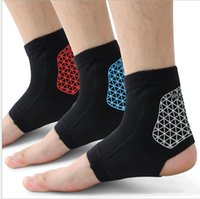Wholesale Ankle Foot Support Strap Brace Guard Gym Sport Sock Protector Fit Ankle Protection Brace for Basketball Outdoor Single color LJJK427
