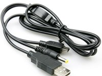 Wholesale Hot selling in USB Charger Charging Data Transfer Cable For PSP to PC