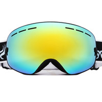 anti fog snowboard goggles - Fashion Snow Glasses UV Protection Multi Color double anti fog lens Snowboard Ski Goggle