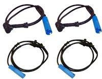 Wholesale 4PCS SET FRONT REAR WHEEL ABS SPEED SENSORS FOR BMW E38 i iL iL
