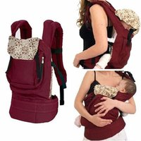Wholesale 2016 Classic Polular Cotton Baby Carrier Adjustable Newborn Baby Sling Portable Multifunctional Kid Carriage Wrap Activity Gear