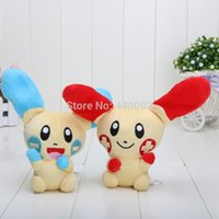 anodes and cathodes - 5 quot Pikachu anode and cathode rabbit couple plush doll