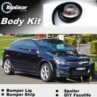 Wholesale Bumper Lip Lips For Holden Astra VXR Front Skirt Deflector Spoiler For Car Tuning The Stig Recommend Body Kit Strip
