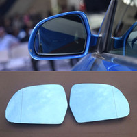 audi mirror glass - Rearview Mirror Blue Glasses LED Turn Signal with Power Heating For Audi Q3