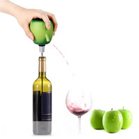 Wholesale Wine Pourer Electric Red Wine Decanter Homebrew Pump Apple Style Cider Appliance Wine Aerator Quality Wine Openner Accessories
