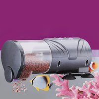 Wholesale Practical Adjustable Outlet Automatic Fish Feeder Aquarium Tank Auto Food Timer Feeding Dispenser