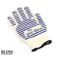 Wholesale OVE Oven Gloves Kitchen Microwave Oven Mitt Heat Resistant Hot Surface Handler Bakeware Cooking Tools Opp Bag Packing