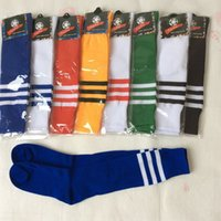 Wholesale DHL FREE soccer socks fashion men women striped football socks Sport socks Short Stockings