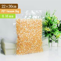 airtight food bags - 100 x30cm mm PET PE Clear Airtight Food Packaging Bag Vacuum Bag Food Vacuum Plastic Bag