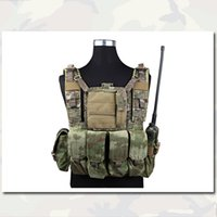 Wholesale Airsoft RRV Tactical Vest With Pouchs Set Combat Molle Emersongear Outdoor Wargame Vest