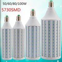 Wholesale E27 B22 E40 W W W W SMD Cree chip Corn Light LED Bulb Lamp Cool Warm White
