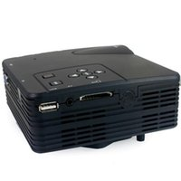 Wholesale Free DHL LZ H80 LZ H80 Lumens LCD Portable Mini Projector x Pixels Support P with AV USB VGA HDMI SD Card Slot