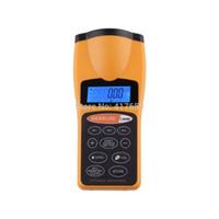 Wholesale Pc CP laser distance meter measurer laser rangefinder medidor trena digital rangefinders hunting laser measuring tape hot