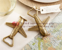 aircraft alloy steel - High grade alloy vintage aircraft beer bottle opener Wedding Favors wedding supplies gift box cheap Practical pieces to sell unique