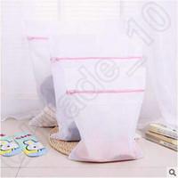 Wholesale 3 Size Washing Machine Specialized Underwear Washing Bag Mesh Bag Bra Washing Laundry Underpants Care Wash Net Laundry Bag CCA4975