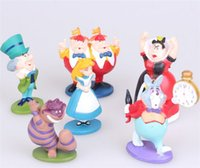 alice ornaments - DSN shall remember Alice in Wonderland Cinderella doll dolls hand to do ornaments micro landscape model for kids gifts