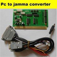 arcade cabinets - PC to jamma converter board PC2Jamma computer to arcade game machine computer to cabinet amusement machine