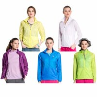 Wholesale New Female Sunscreen Protection Clothing Jacket Beach Air Condition Shirt Tops
