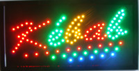 Wholesale 2016 Led karaoke sign new coming X19 inch indoor Ultra Bright flashing customed karaoke store Led sign