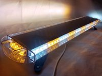 beacon light bars - 80 LED LIGHT BAR BEACON EMERGENCY WARN TOW TRUCK PLOW RESPONSE AMBER WHITE quot