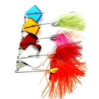 bass fishing products - Fish Tackles Hook Fish Outdoor Products g Tassel Composite Fishing Gear Sequins Fishing Hard Spinner Lure Bass Sequins