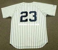 Wholesale DON MATTINGLY New York Yankees Majestic Cooperstown Home Baseball Jersey