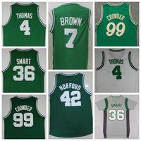 al sales - Sale Jaylen Brown Isaiah Thomas Al Horford Marcus Smart Jae Crowder Christmas Throwback Green White Gray