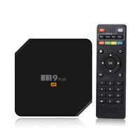 android satellite receiver - Android TV Box gb gb Amlogic S905 Quad Core Android M9 Plus Kodi G G Dual Wifi Bluetooth Satellite Receivers