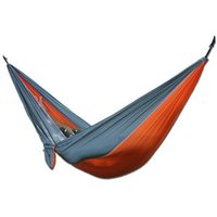 Wholesale Best Promotion Multicolor Portable Parachute Nylon Fabric Hammock Travel Camping Outdoor For Two Persons Lowest Price