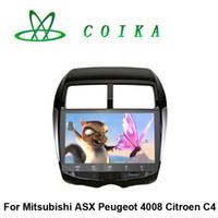 citroen c4 gps dvd - 2016 Newest Quad Core Android Head Unit Car DVD For Citroen C4 Mitsubishi ASX Peugeot Radio RDS BT Phonebook WIFI G HD Screen
