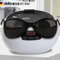 Wholesale household washing machine ultrasonic cleaning glasses jewelry watches fake toothbrush nipple cleaner