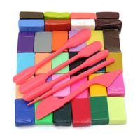 baking education - Color Oven Bake Polymer Clay Block Modelling Moulding Sculpey DIY Tool Hand Make Education Crafts Children Favorite
