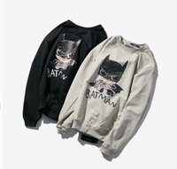 batman mens clothing - Fashion New men Hoodies Sweatshirts cotton printed men s slim fit batman casual Hoodiesthin terry mens Pullover men s clothing