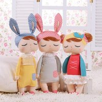 Wholesale 2016 New Metoo Plush Dolls Kids Girls Boys Lovely Stuffed Bunny Rabbits Toys Babies Gifts Infant Accompany Sleep Doll