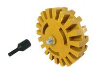 Wholesale Decal Eraser Wheel w Arbor Pinstripe Disc Rubber