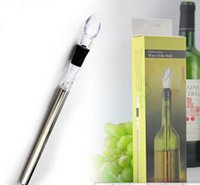 Wholesale Durable and portable Stainless Steel Wine Cooler NEW Corkcicle White Red Wine Chiller Replace
