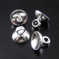 antique pot lids - 10pcs Antique Silver Pot Lid Alloy Pendant Charm Jewelry Making mm jewelry making
