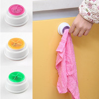 bath room shelves - 2016 New dishclout rack Wash cloth clip holder clip dishclout storage rack bath room storage hand towel rack kitchen Tools