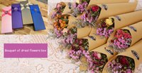 Wholesale natural dried Carnation Valentine grass bouquet Preserved Flower wedding gift home decoration dried flowers gift box N016