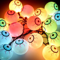 ball of led light - Different kinds of Funny flash mm LED string light for Halloween Club Hotel Home decoration