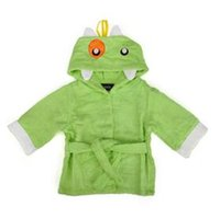 Wholesale Nana Hooded Bathrobe Animal Clothing Towel Kids Shark Cartoon Baby Bath Robe Shower months Unisex Onesize Hooded Bath Wraps