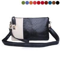 Wholesale Ladies autumn winter brand handbag leather fashion color leisure hand diagonal bangalor