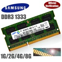 Wholesale Original SAMSUNG GB GB GB RX8 Rx8 PC3 s DDR3 MHz Laptop Memory RAM Single strip In stock